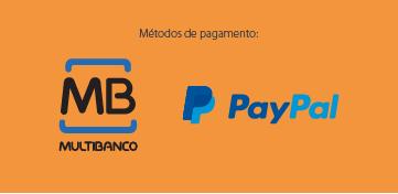Pagamento por referência multibanco ou paypal